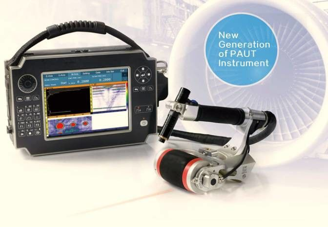 Portable Ultrasonic Flaw Detector Machine In Physics / Phased Array Flaw Detector